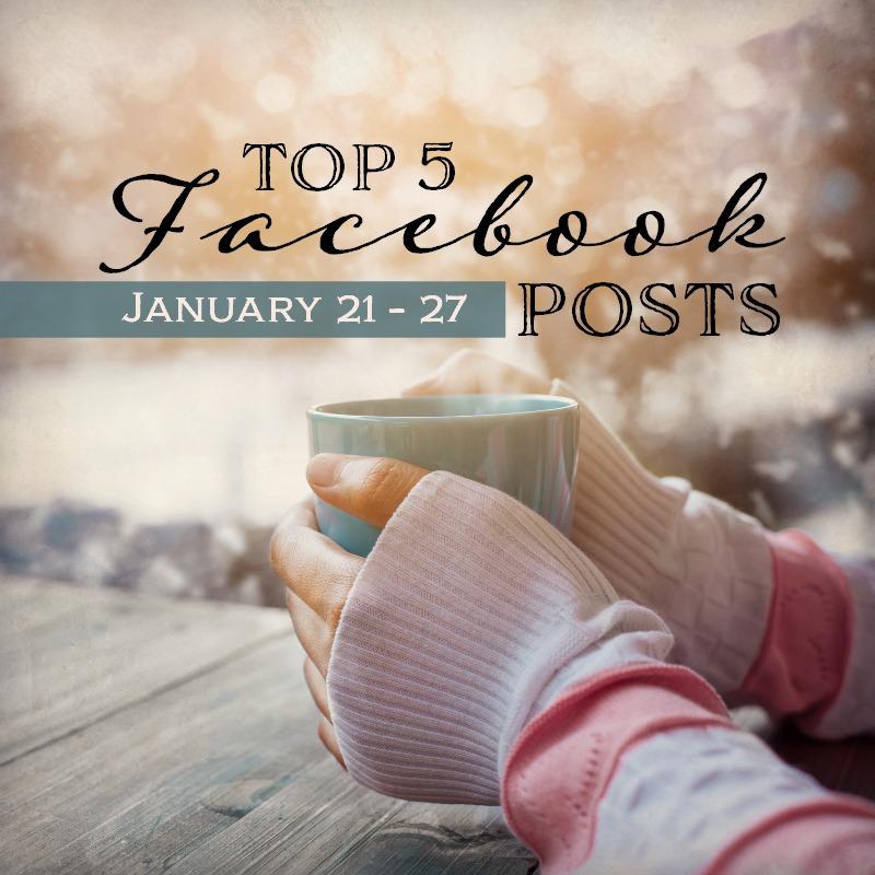 Facebook Top 5 (1/21-1/27)
