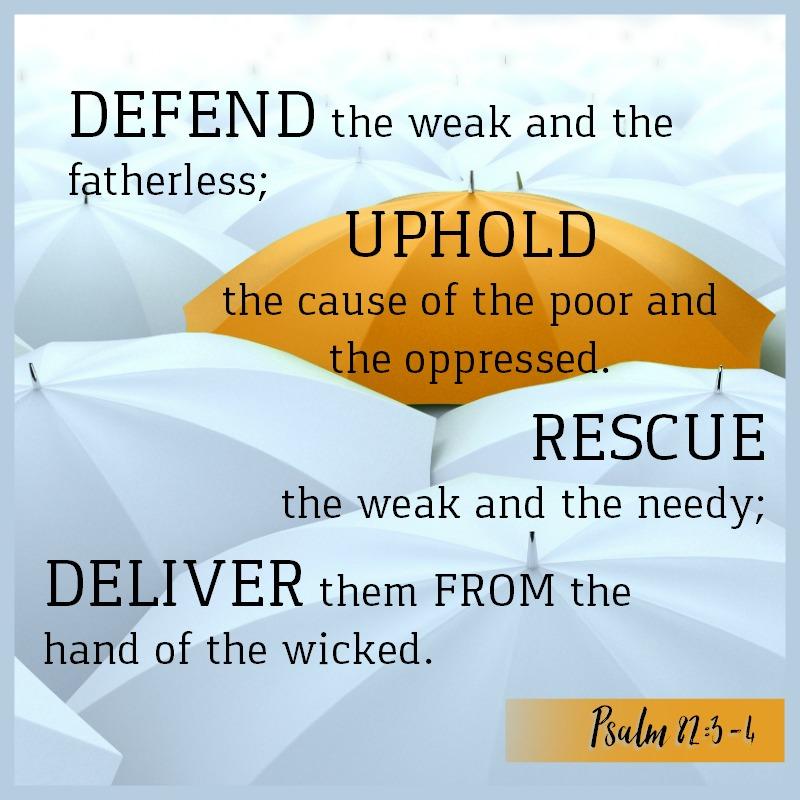 Psalm 82:3-4