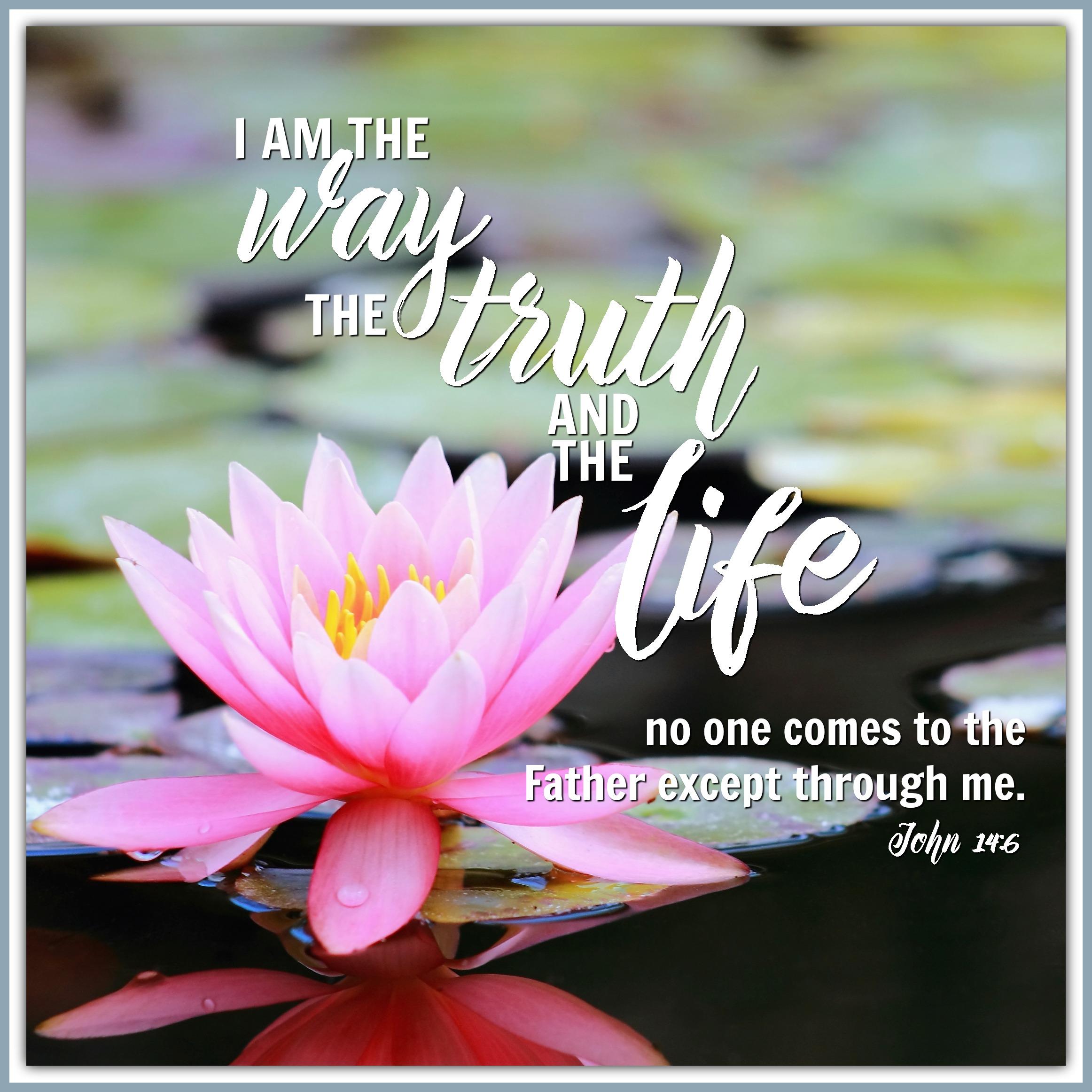 John 14:6-7