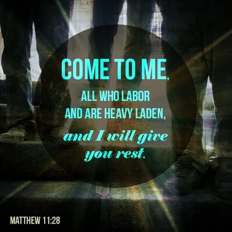 Daily Verse: Matthew 11:28