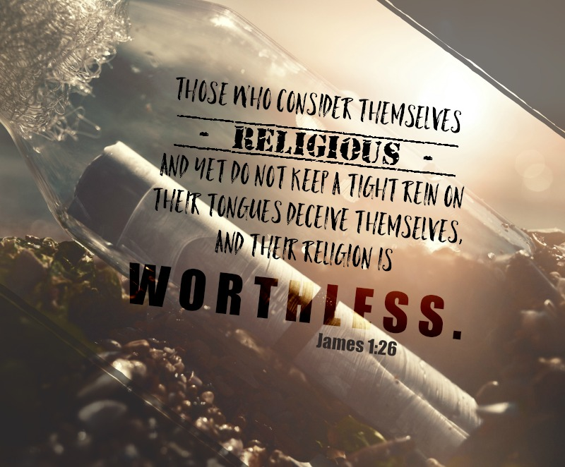 Daily Verse: James 1:26