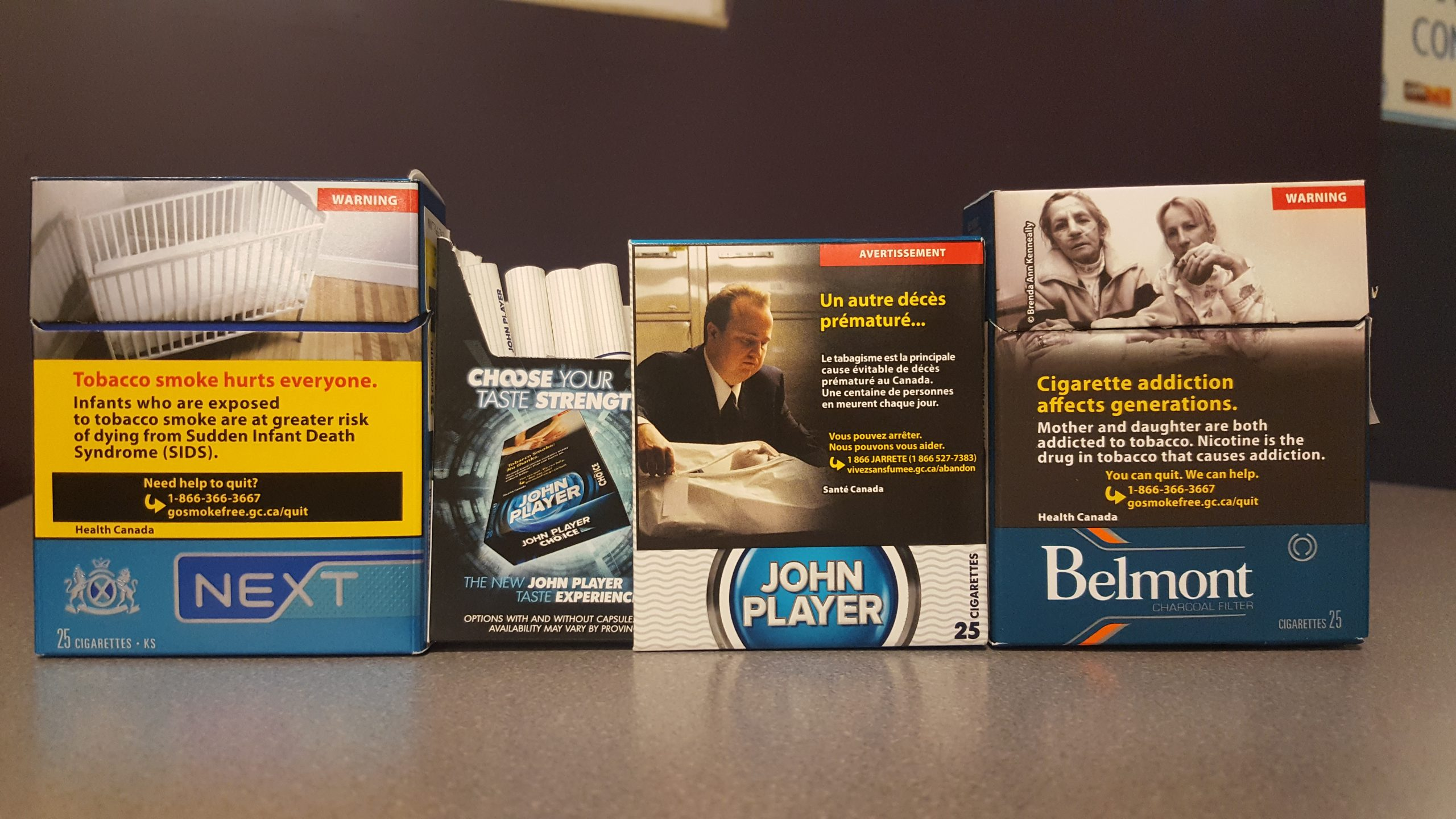 The call for plain and standardized tobacco packaging