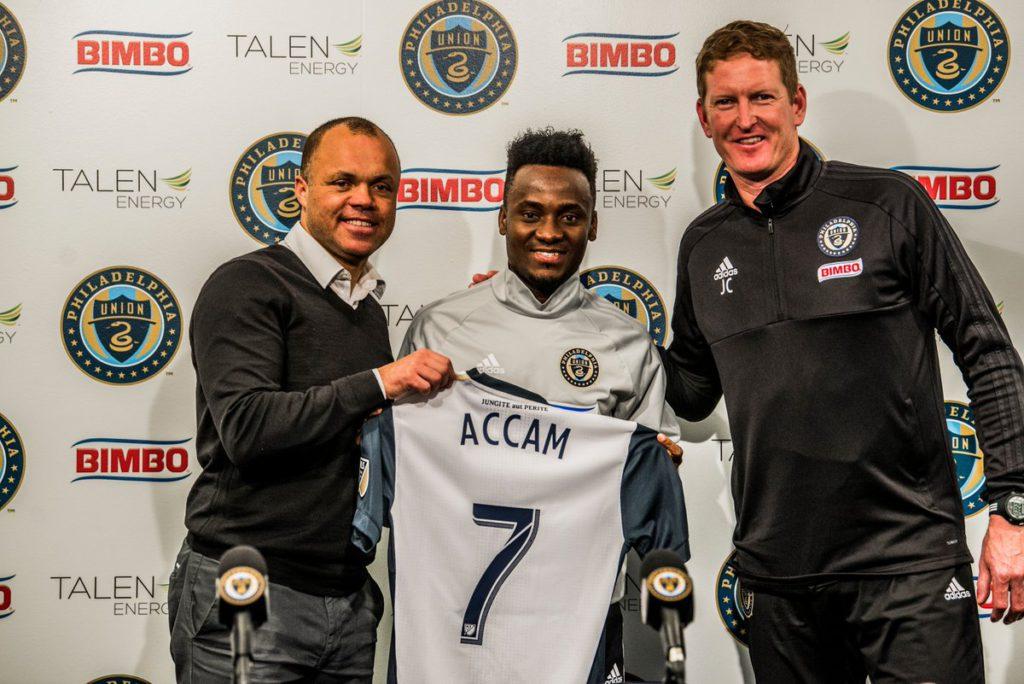 Philadelphia Union forward David Accam: We are still adapting at the club