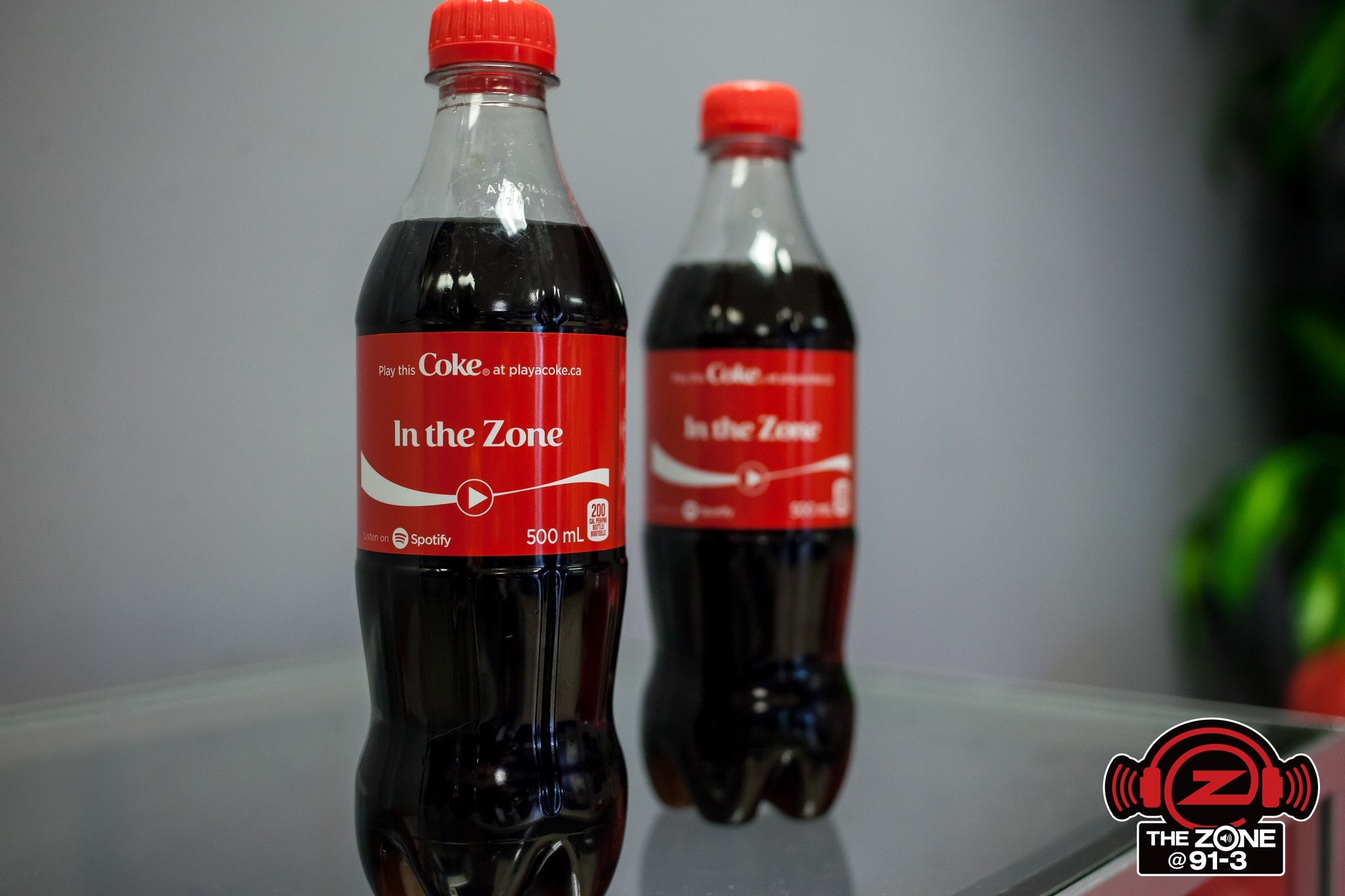 Share a Coke in The Zone