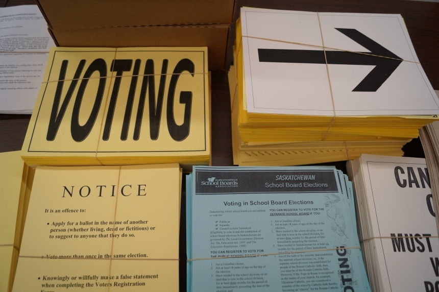 Municipal election results roll in from votes across Sask.