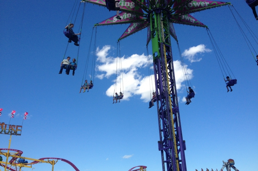 High-flying rides thrill Queen City Ex