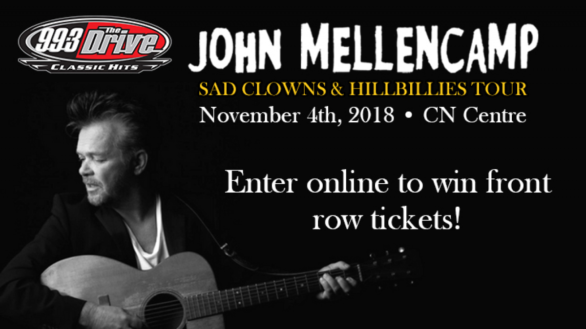 5549276c429 Front Row Tickets to John Mellencamp