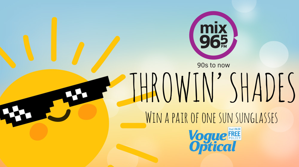 Mix 96-5's Throwin' Shades with Vogue Optical