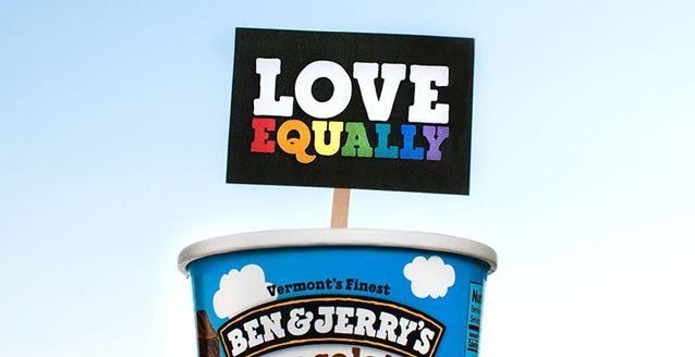 Ben & Jerry's is Scooping Up For Equality