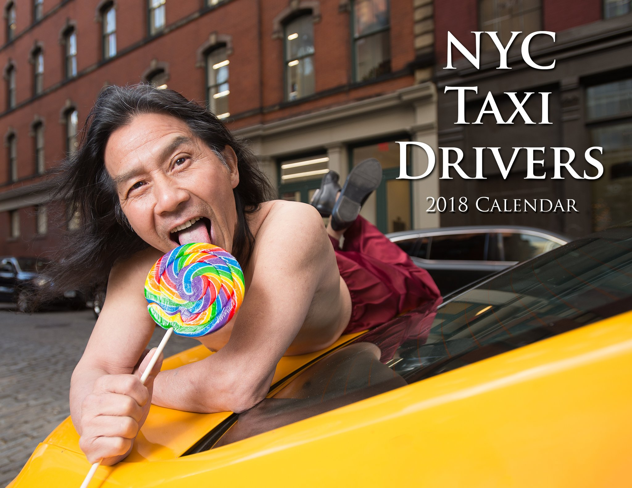 """NYC Cabbies Release """"Sexy"""" Charity Calendar"""
