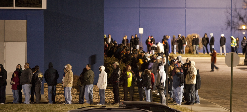Things Overheard in Line on Black Friday
