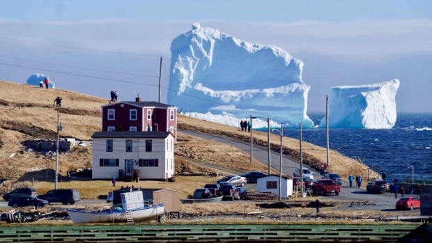 Your Ad on an Iceberg?!