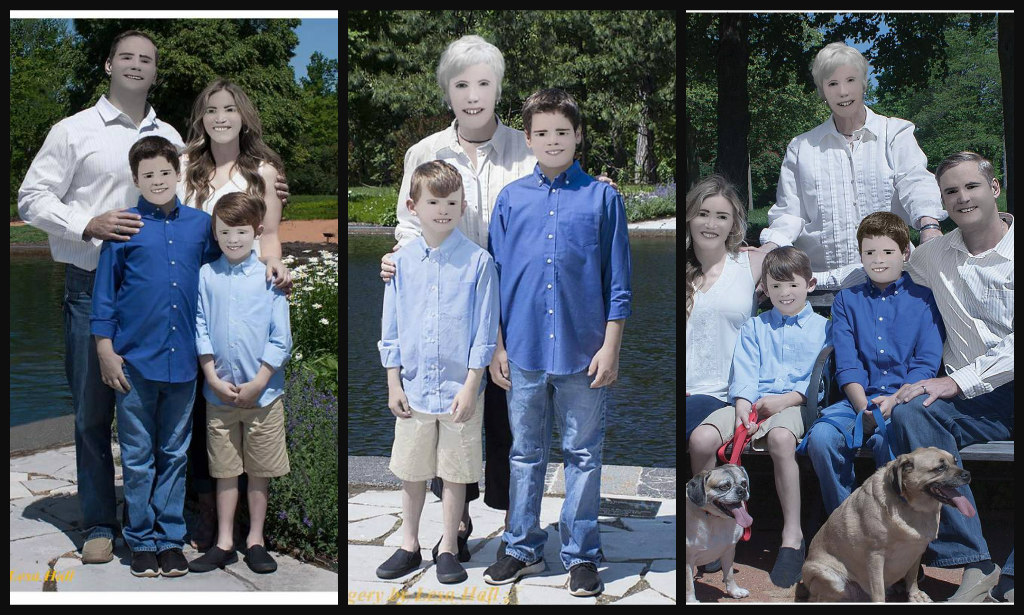 A Family's Retouched Photos Are Going Viral for Photoshop Fail