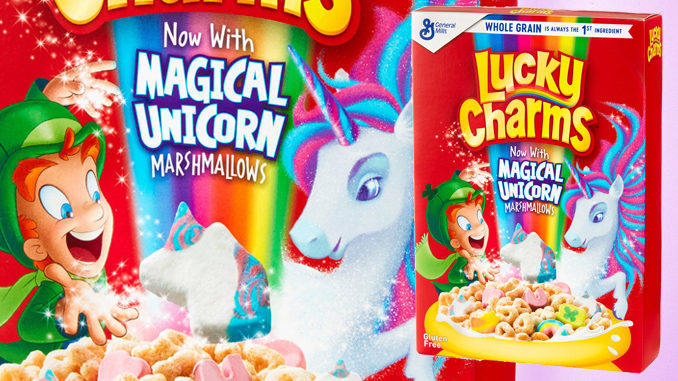 Lucky Charms Has a New Marshmallow