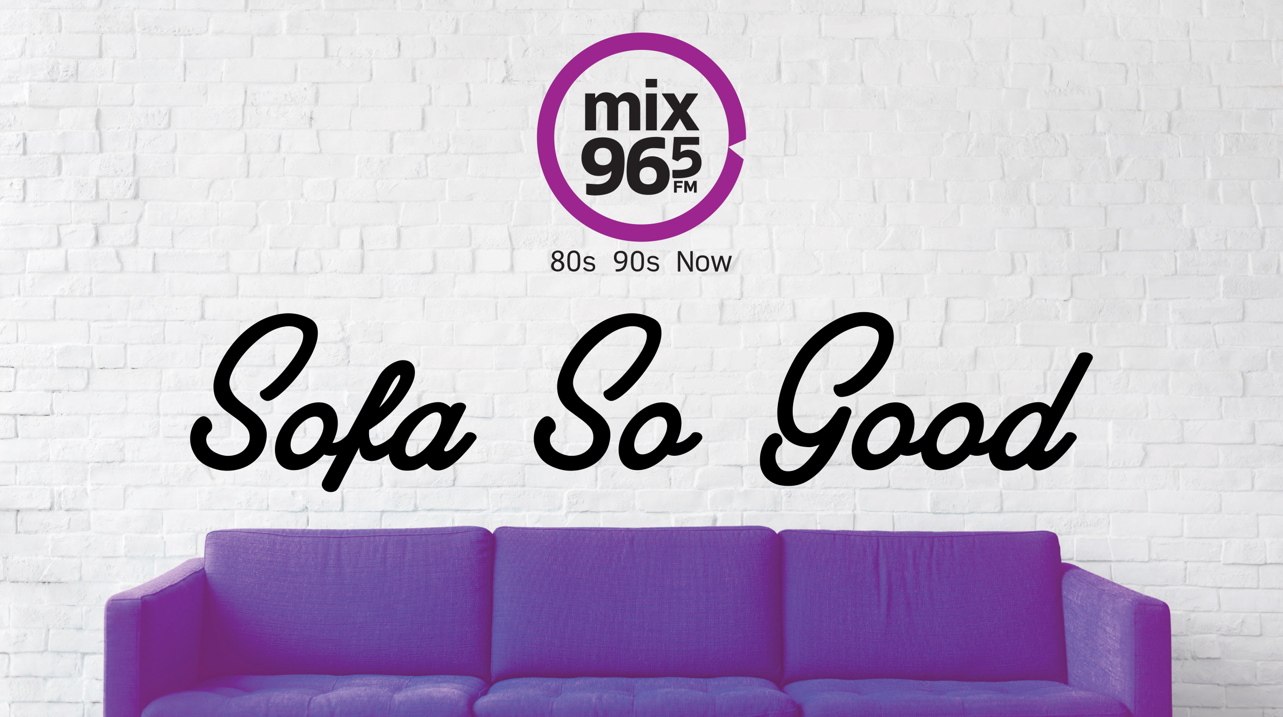 Mix 96-5's Sofa So Good with Berry's Furniture