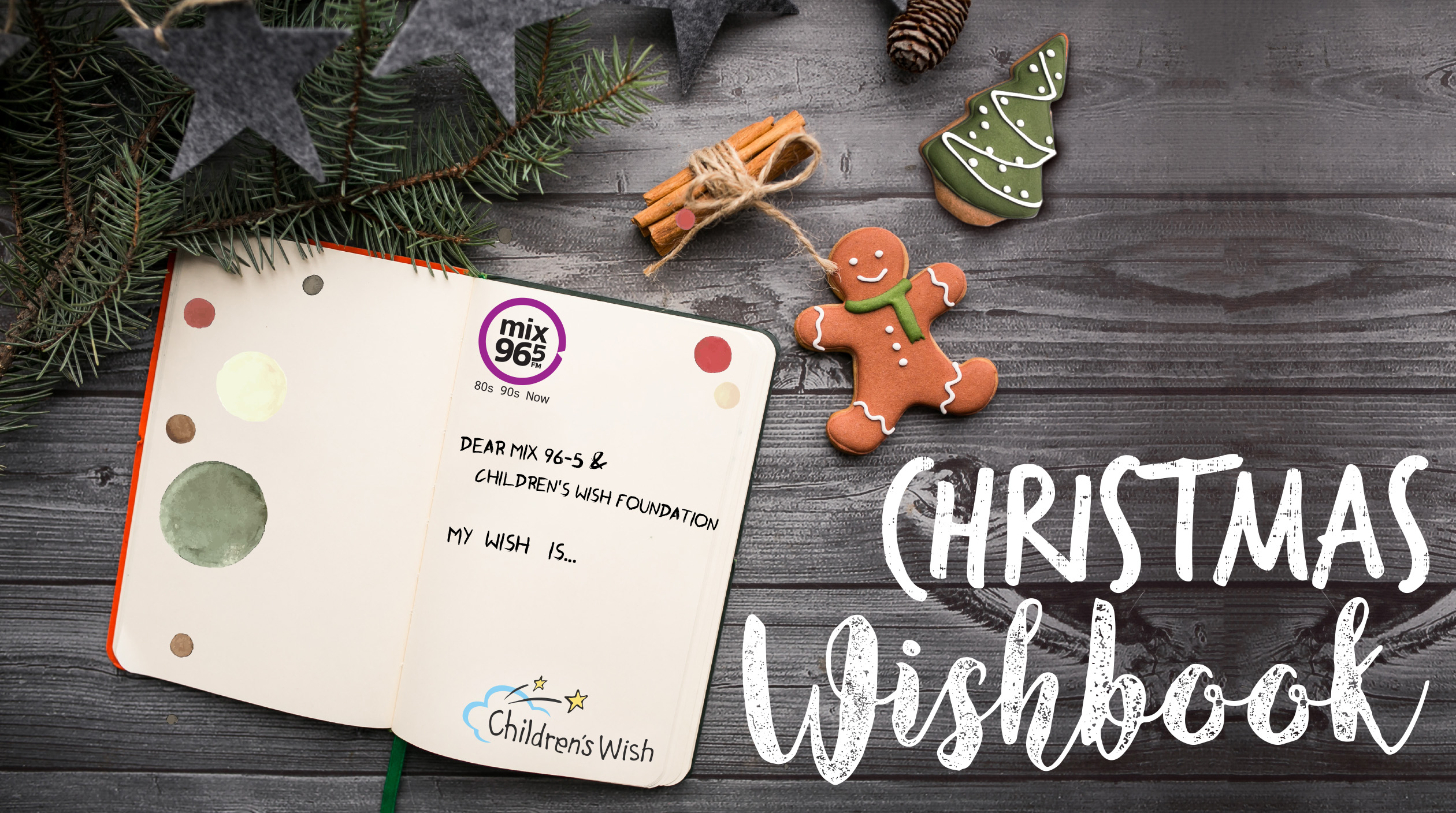 Mix 96-5 Christmas Wishbook (STARTING PAGE)