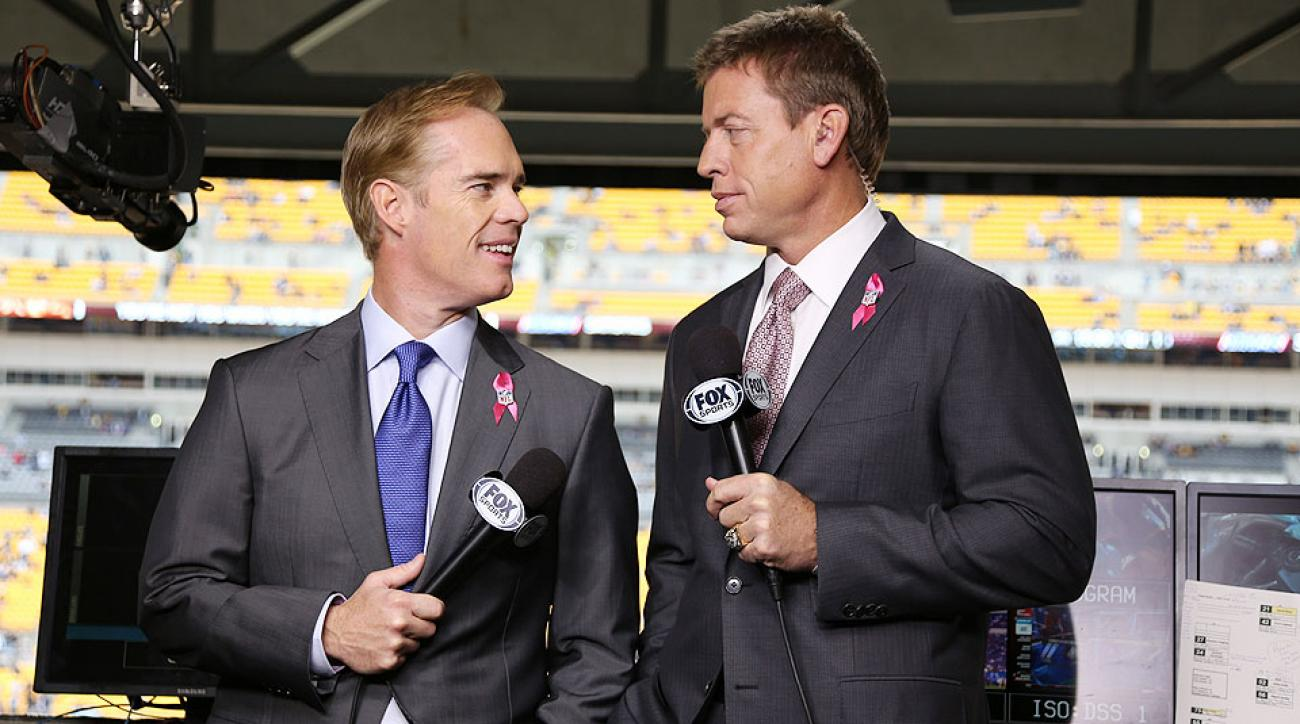 I like Troy Aikman and Joe Buck calling the Packers games....am I all alone?