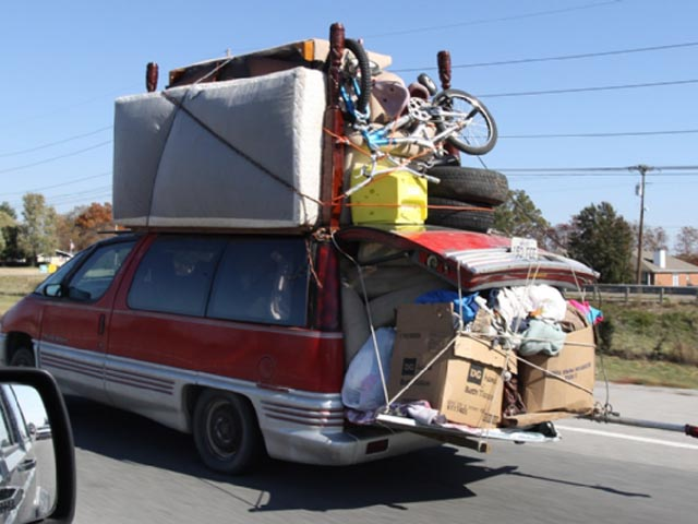 If you had to pack up and leave what would you take?