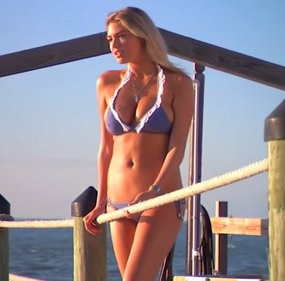 Kate Upton Sizzles in New Sports Illustrated Swimsuit Clip