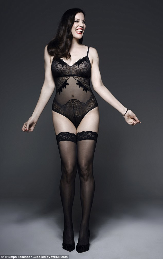 Liv Tyler Poses in Lingerie for Triumph Essence [SFW PICS]