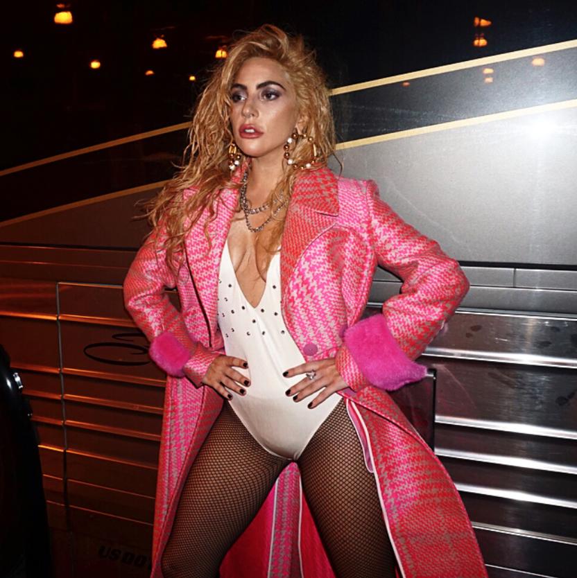 Lady Gaga Shows Some Backstage Skin on Instagram [SFW PICS]