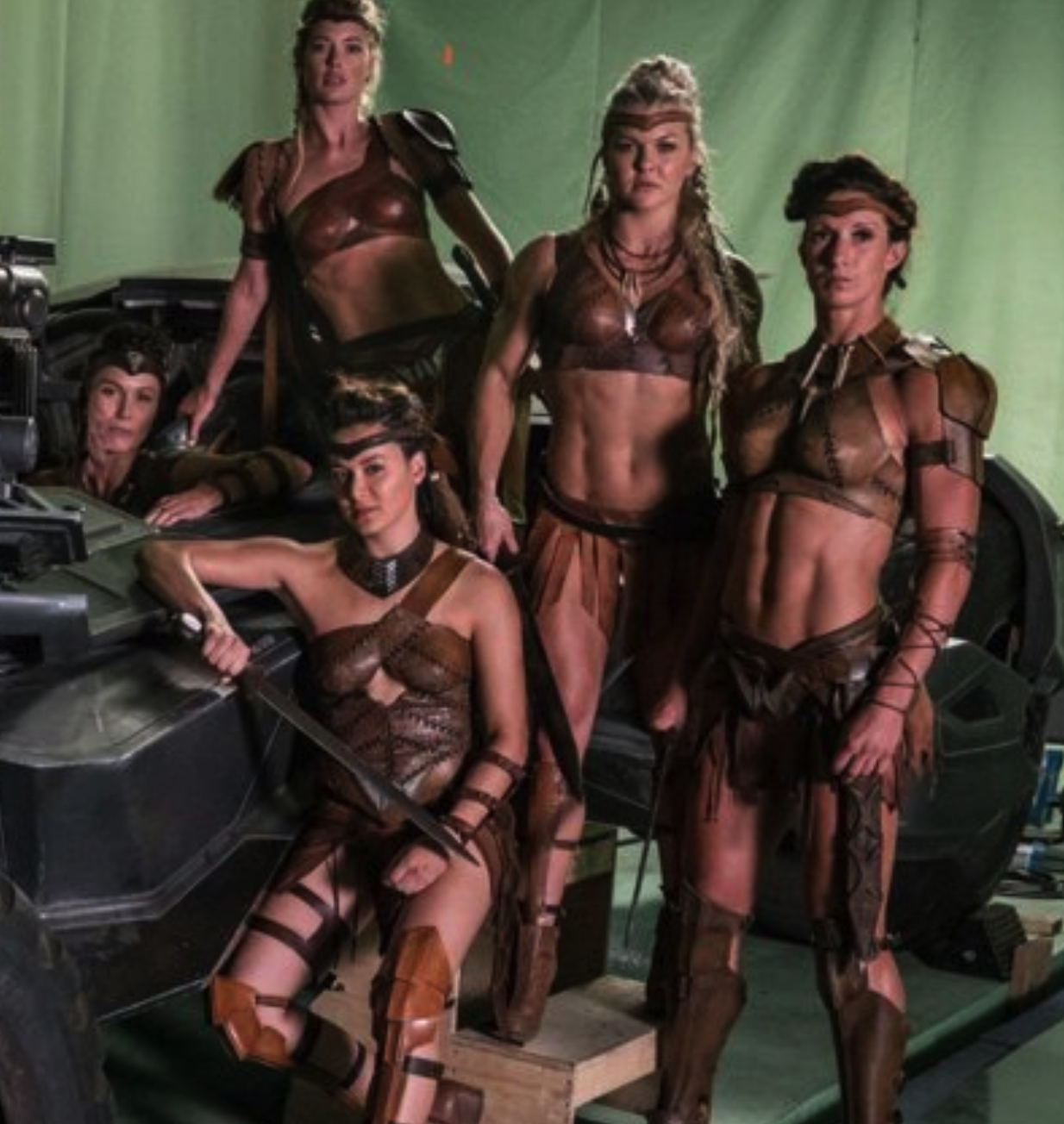 WONDER WOMAN's Amazonians Get Much Skimpier Outfits for JUSTICE LEAGUE