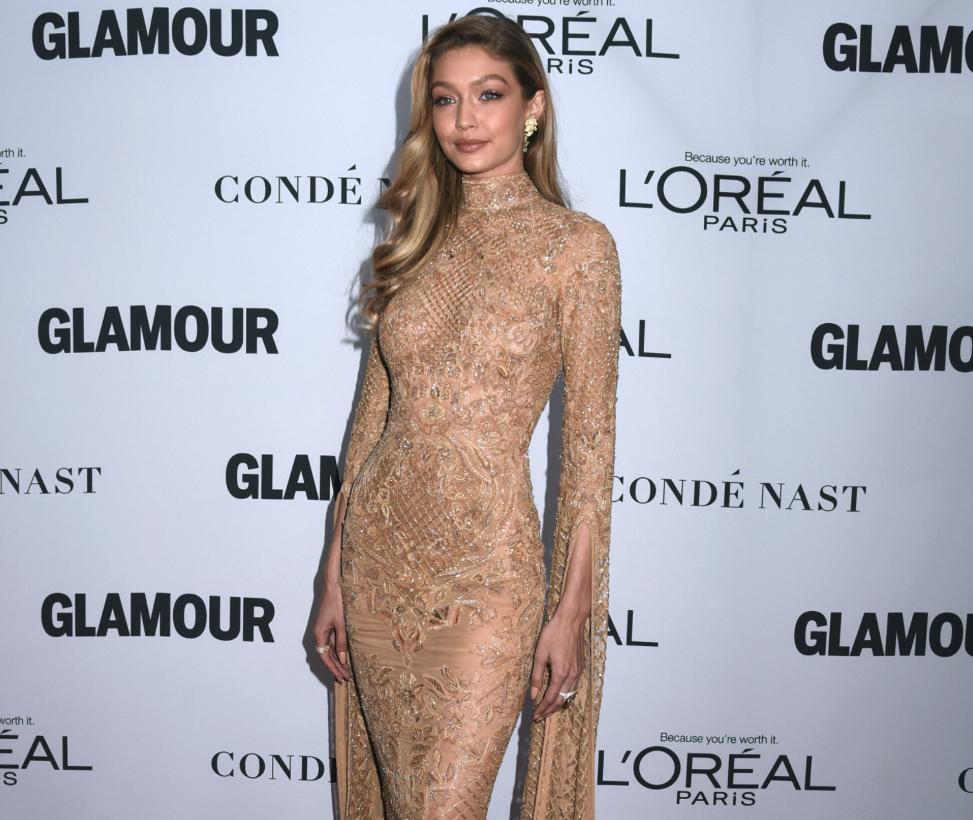 Gigi Hadid Leaves Little to the Imagination in Her Skin Tight Dress