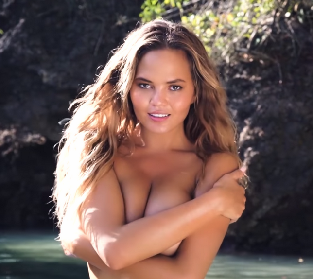 Watch Chrissy Teigen Bare It All in This Steamy Behind-the-Scenes Video