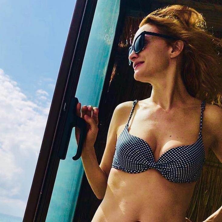 Heather Graham Shows Off Her 47-Year-Old Bikini Bod