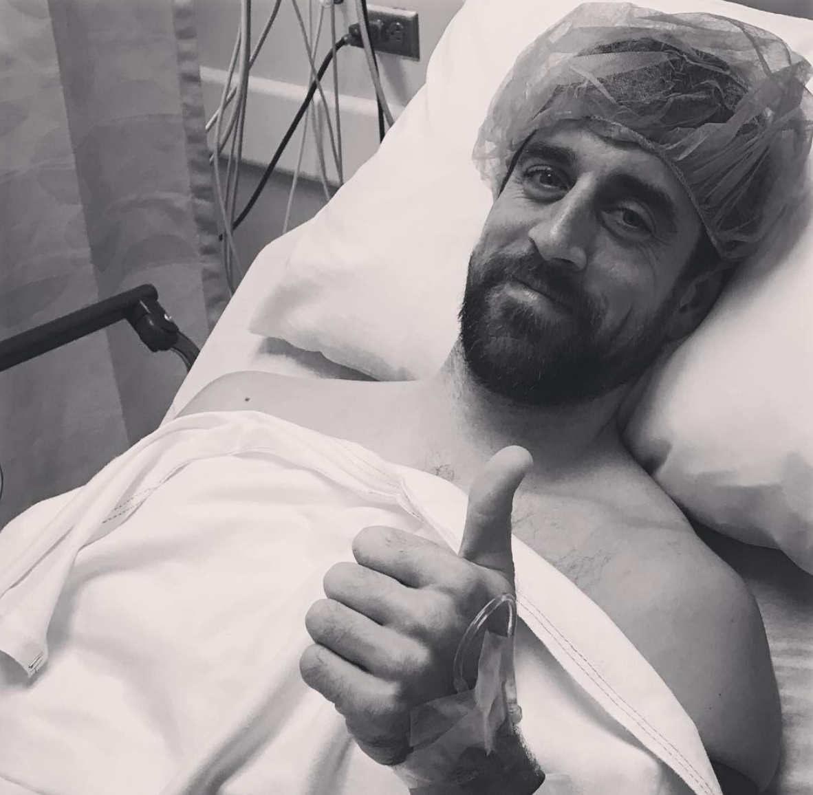 Aaron Rodgers Says  'I've Been Medically Cleared to Return'
