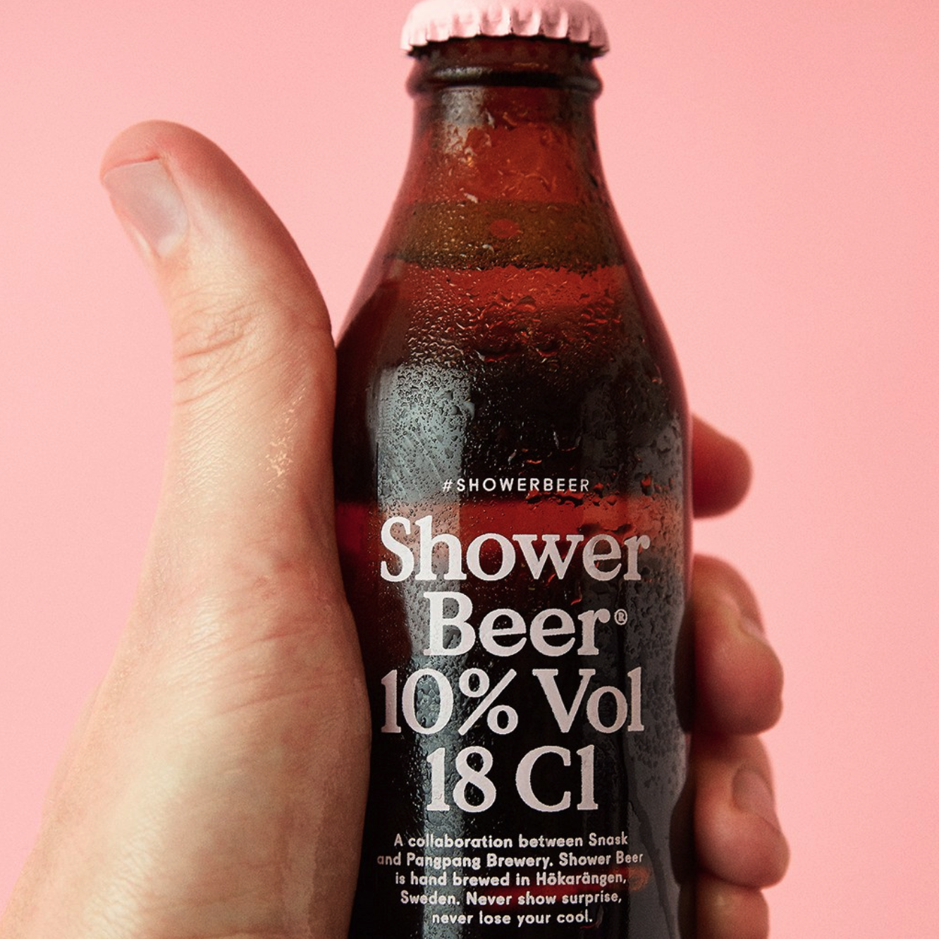 There's Now a Beer Specifically Designed to Drink in the Shower