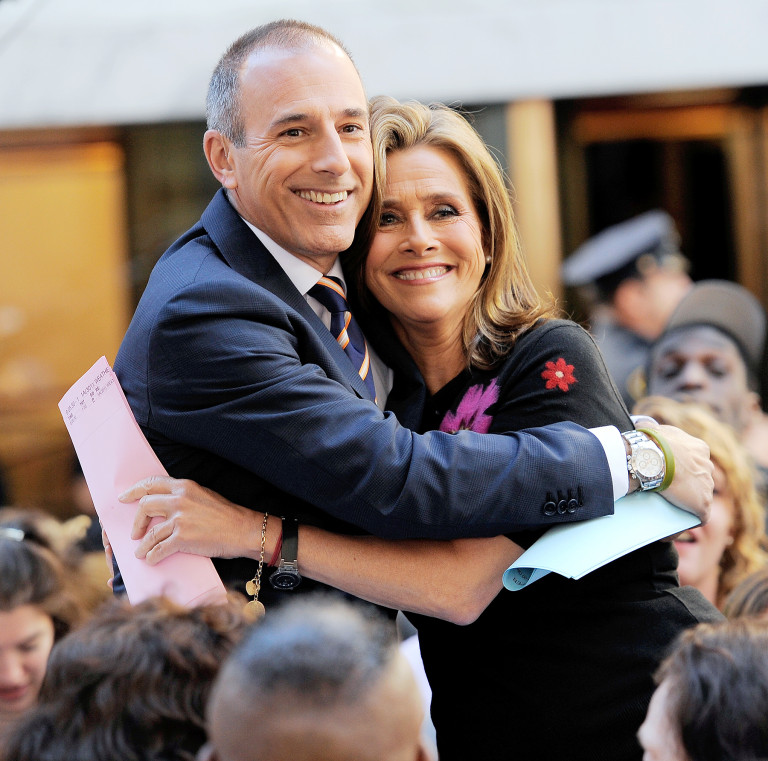 Meredith Vieira Once Found a 'Huge Bag of Sex Toys' in Matt Lauer's Office
