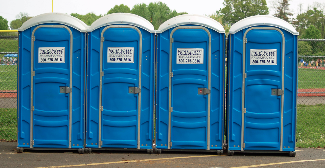Bank Robber Stole $1,000; Got Arrested in a Port-a-Potty