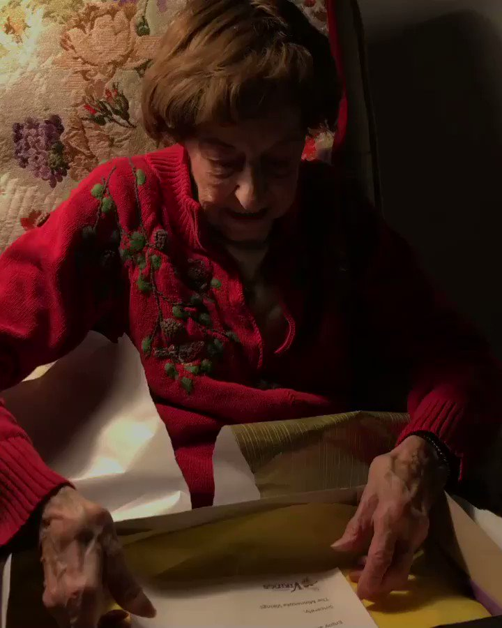 100-Year-Old Vikings Fan Stunned to Find Out Birthday Present Is Playoffs Tickets