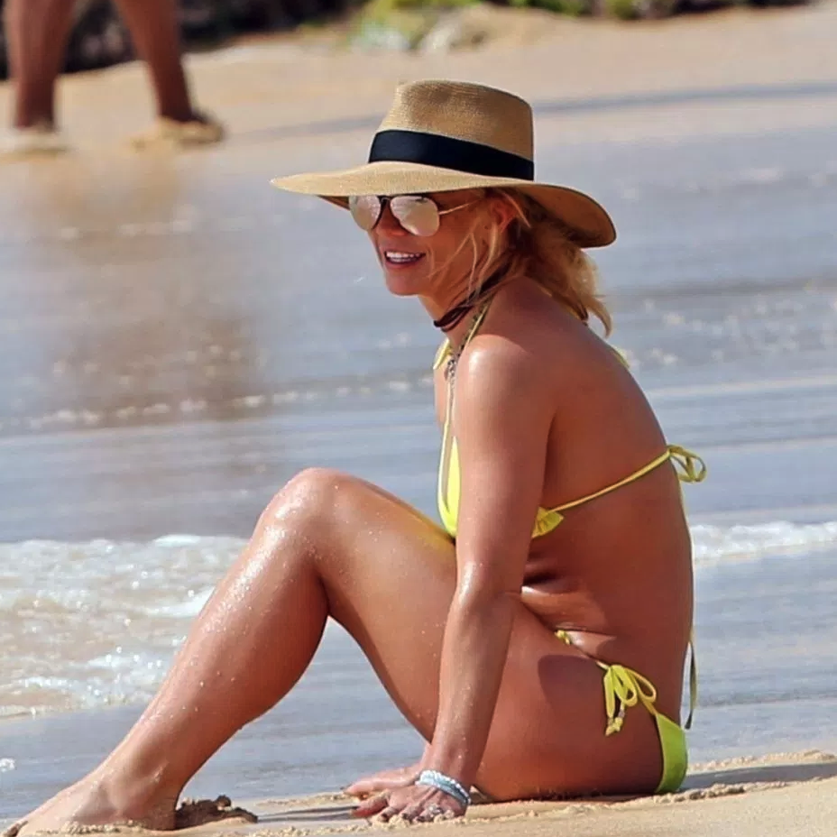 Britney Spears Shows off Her Bikini Body While on Vacation in Hawaii