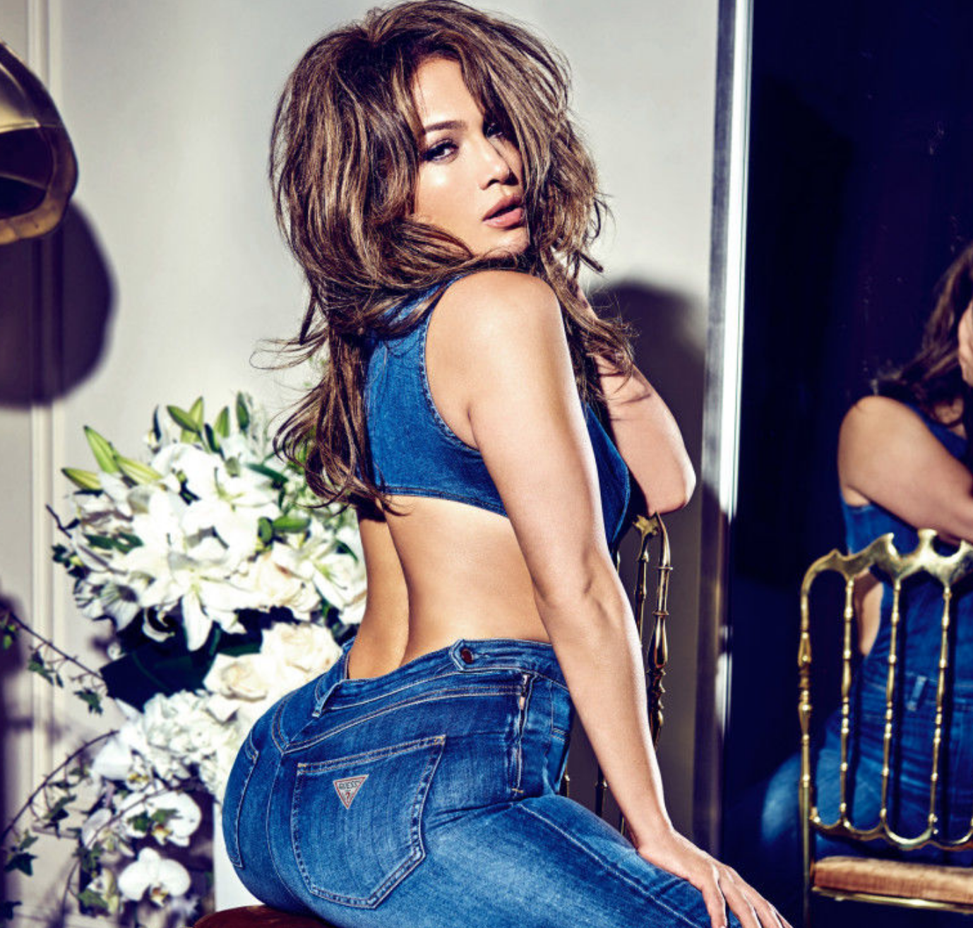 Jennifer Lopez Is Hotter Than Ever in Smoldering New Guess Campaign