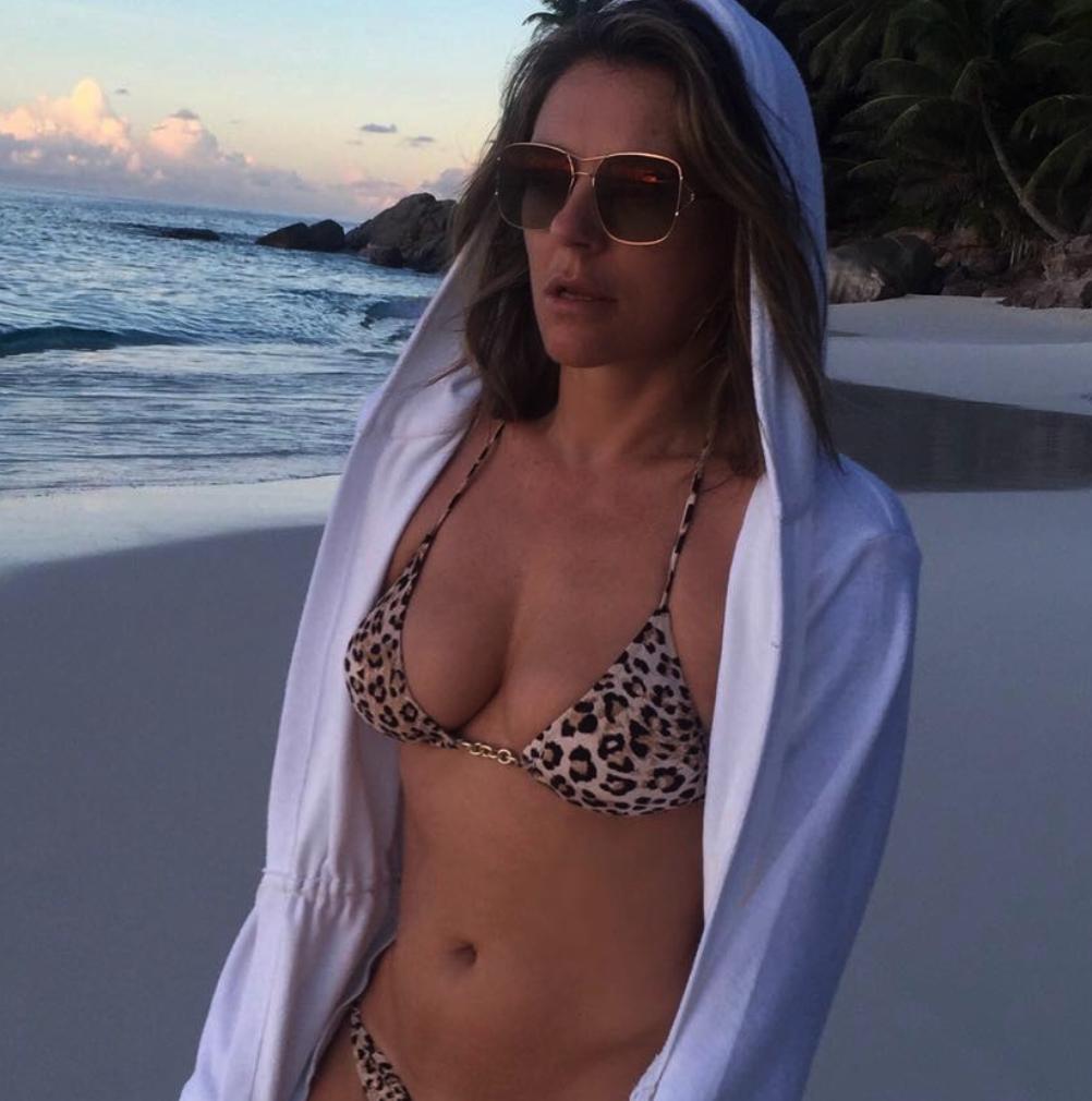 Timeless Elizabeth Hurley Unveils Another Sextastic Bikini Snap on Instagram
