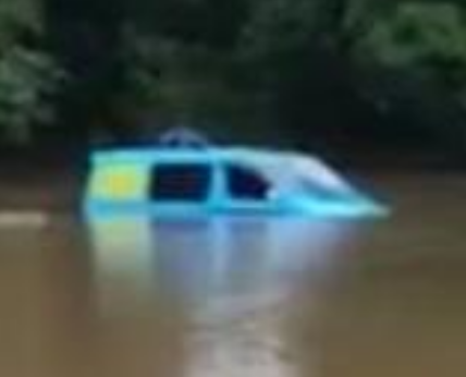Campers Rescued from 'Scooby Do Mystery Machine' After Overnight Flood