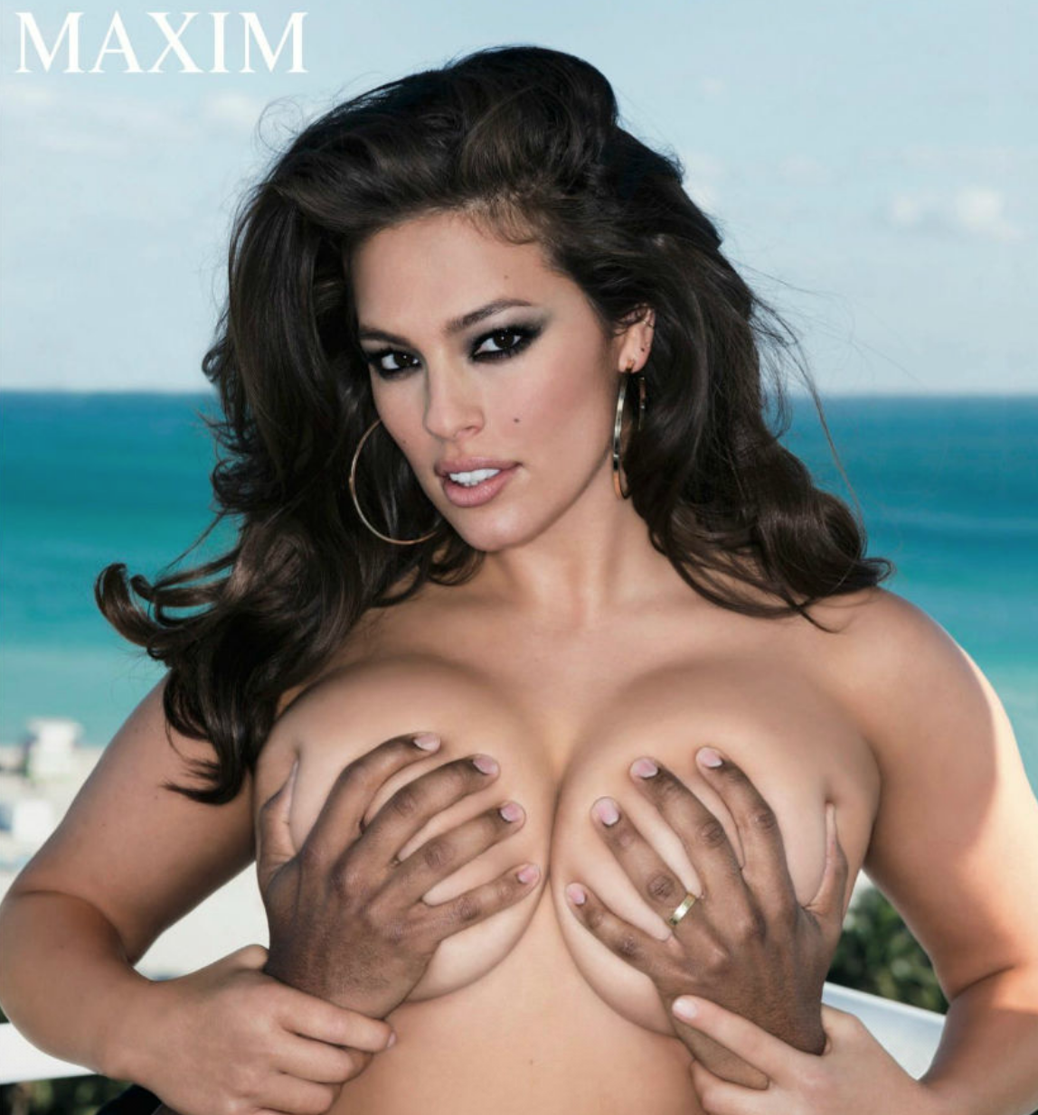 Ashley Graham Loves to Walk Around the House Naked