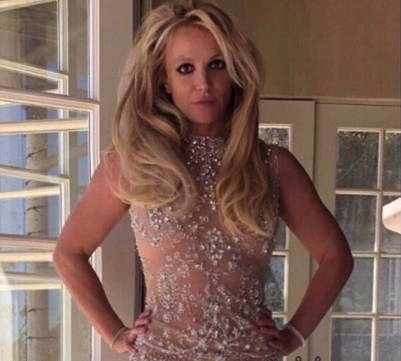 Britney Spears Shakes Up Instagram With a Mind-Blowing See-Through Dress [SFW PICS]