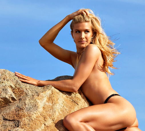 Tennis Hottie Genie Bouchard Goes Topless in Caribbean Photo Shoot [SFW PIC]
