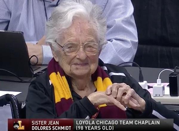Sister Jean's Bracket Has Loyola Losing in Sweet Sixteen