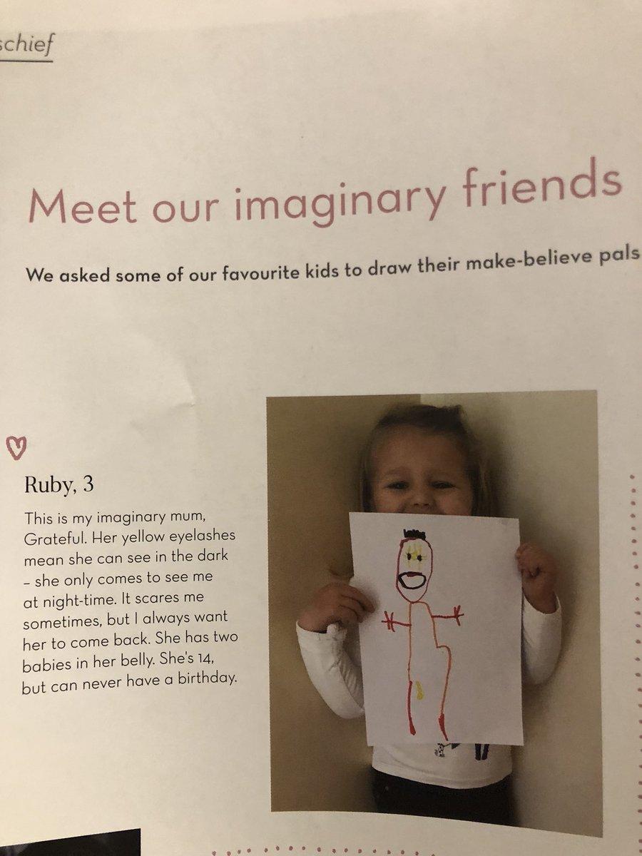 Toddler Describes Creepy Imaginary Friend: