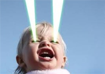 Study Claims Humans Could Shoot Lasers From Their Eyes