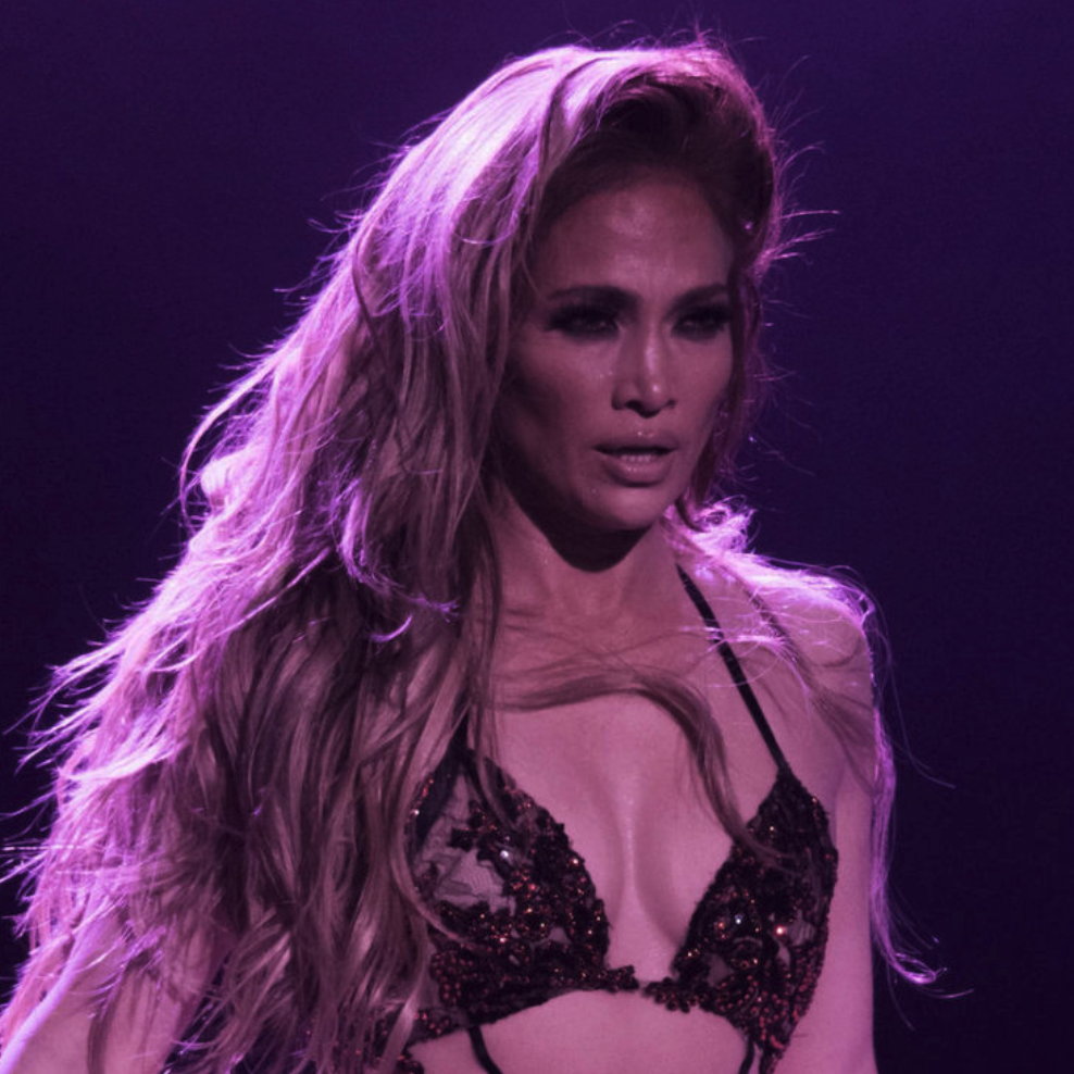 Jennifer Lopez Leaves Little to the Imagination While Performing in Lace Lingerie [PICS]