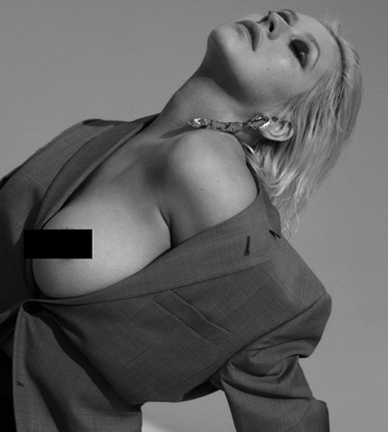 Christina Aguilera Poses Topless in Sizzling New Snaps to Promote Album [NSFW PICS]
