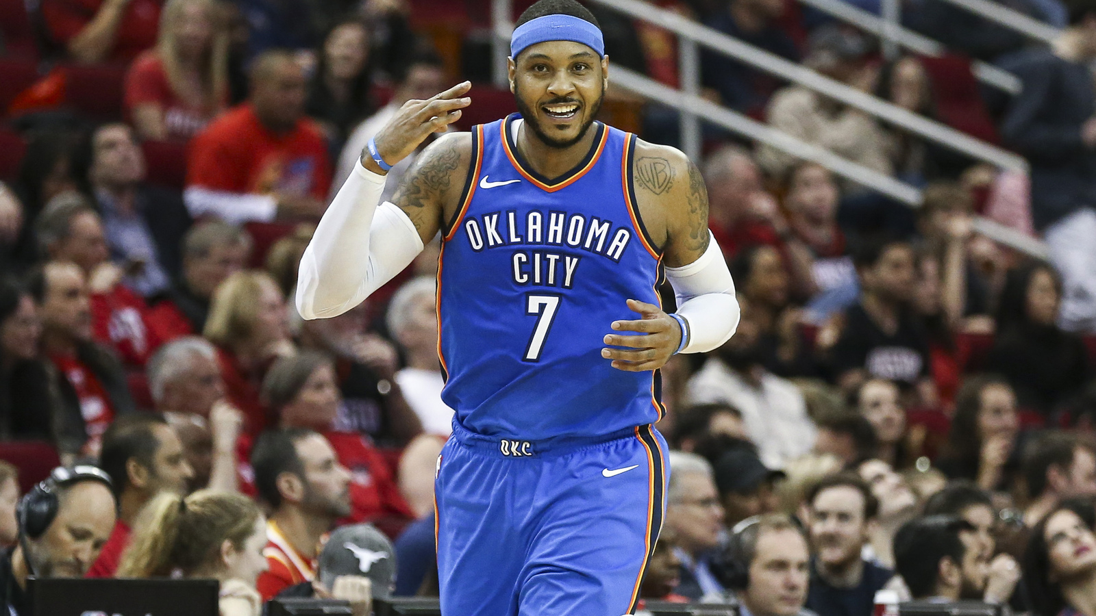 Rockets 'Determined' to Sign Carmelo Anthony