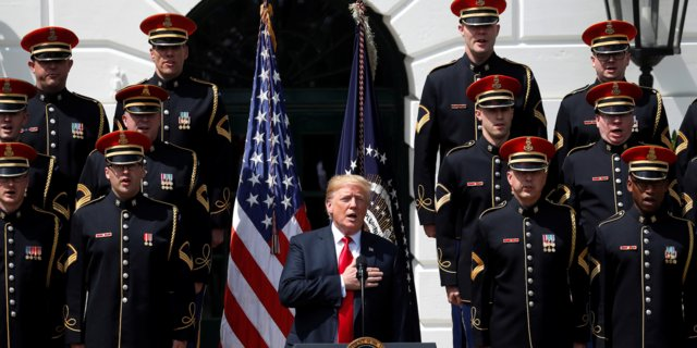 Trump's Military Parade Is Happening