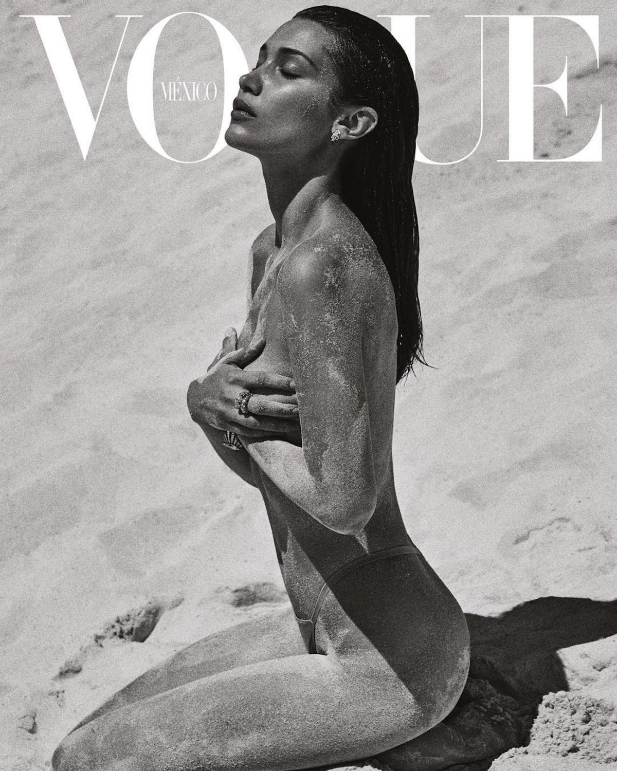 Bella Hadid Goes Topless for the July Issue of VOUGE Mexico [NSFW PICS]
