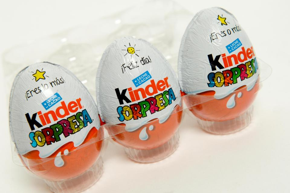 Woman's Proposal Goes Wrong With Kinder Egg In Her Naughty Bits